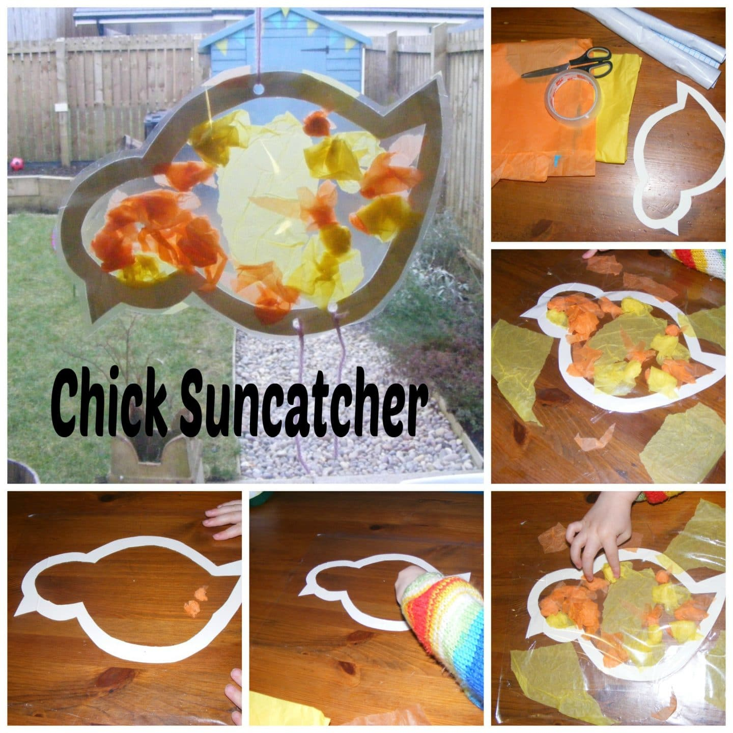 Easter Chick Suncatcher
