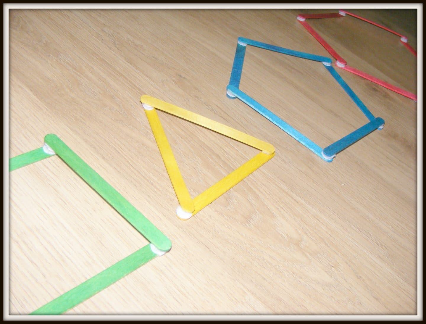 lolly stick shapes with velcro