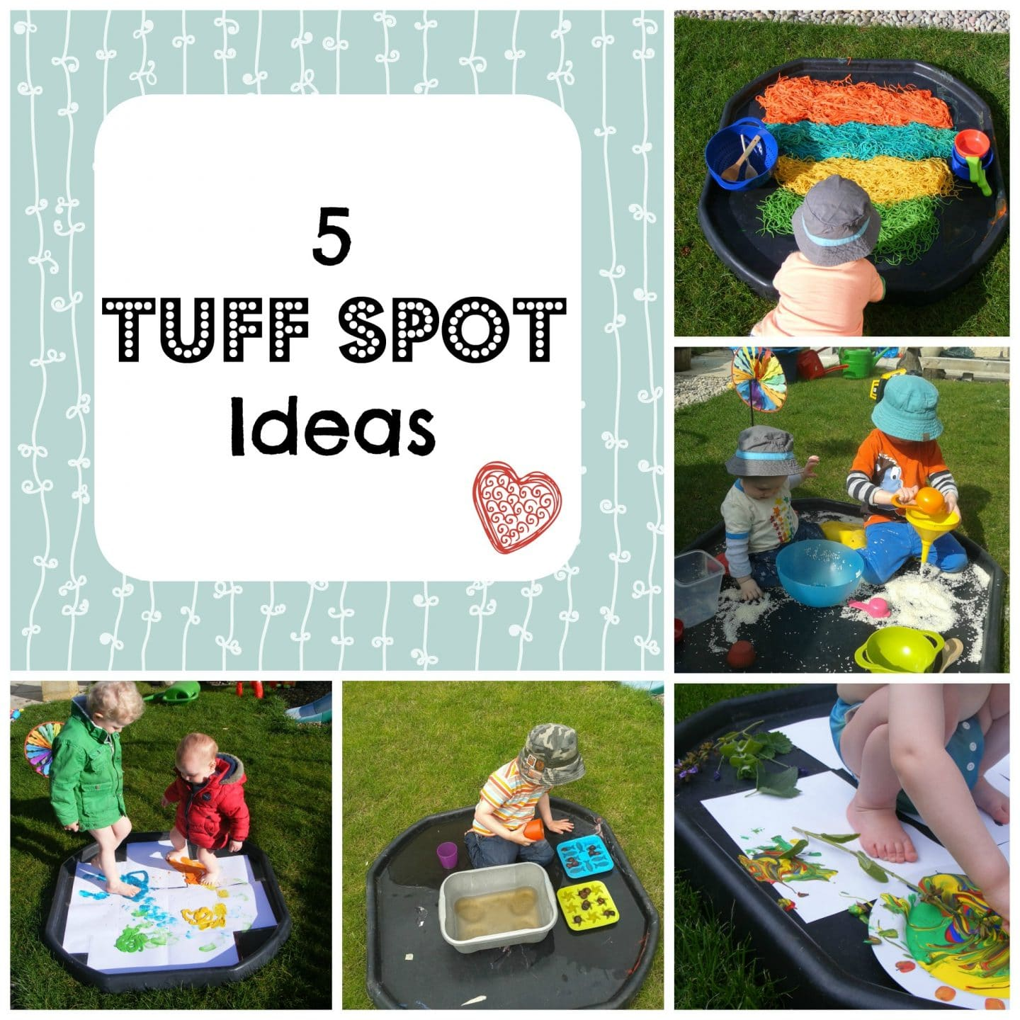 5 Tuff Tray Ideas