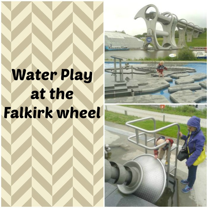 Water Play at the Falkirk Wheel