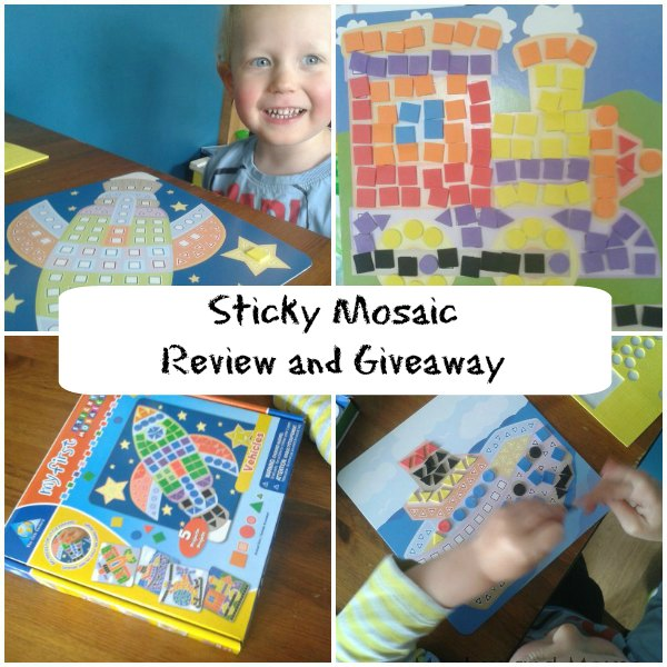 My First Sticky Mosaic Review and Giveaway