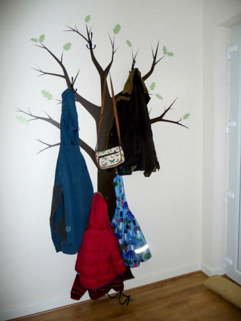 Woodland Tree Coat Rack