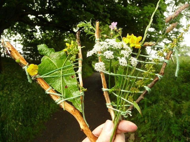 Nature Weaving – Get Creative