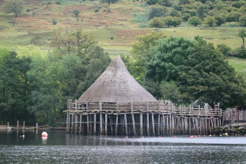 crannog with kids, family days out in Scotland