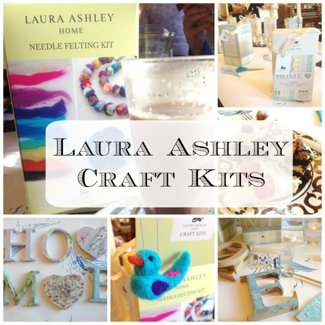 Laura Ashley craft kits