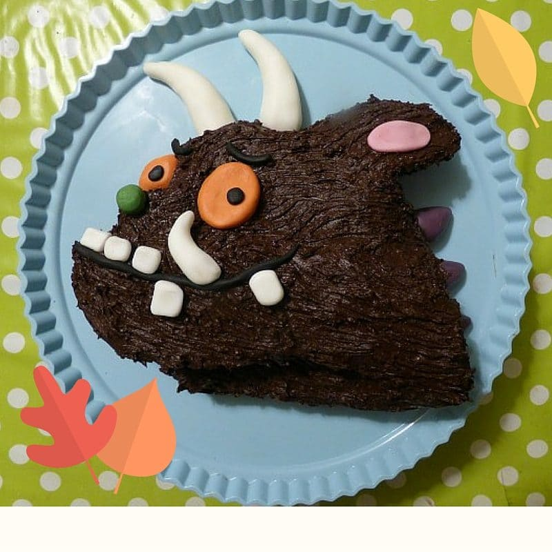 Gruffalo Cake Tutorial Monkey And Mouse