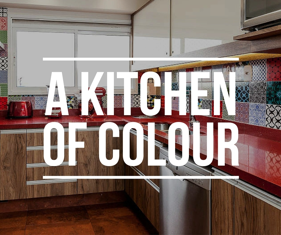 A Kitchen of Colour