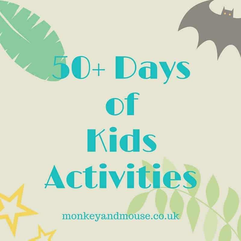 50 days kids activities