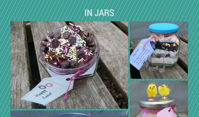 Easter gifts jars