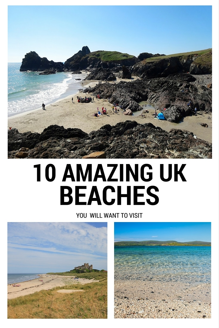 Amazing UK beaches