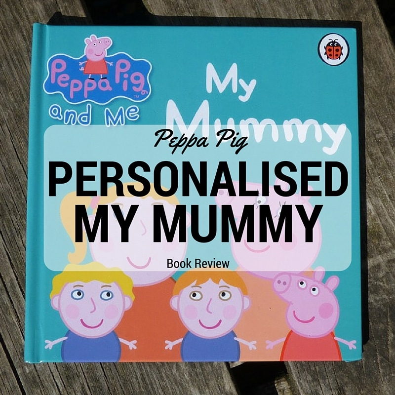 personalised peppa pig book