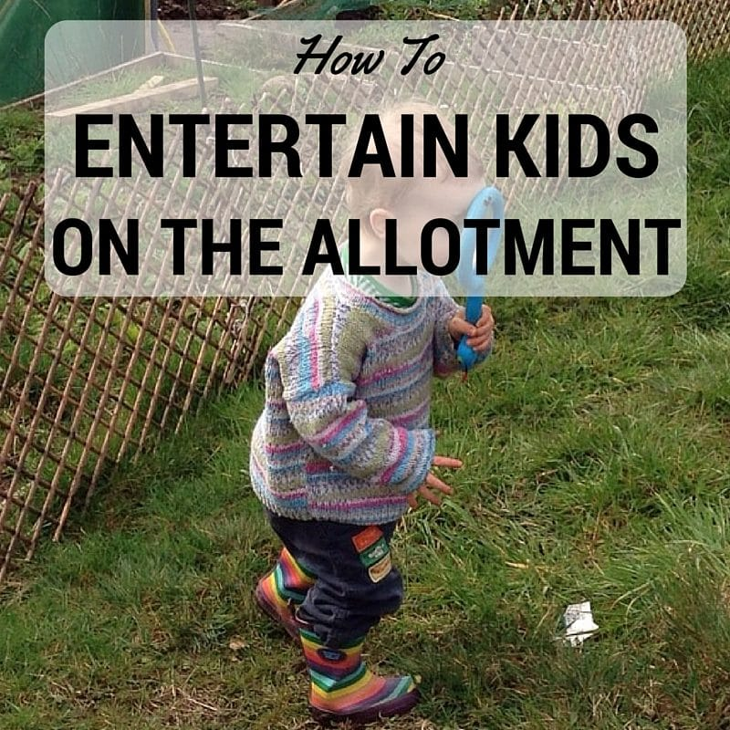 How To Entertain Children At The Allotment Monkey And Mouse