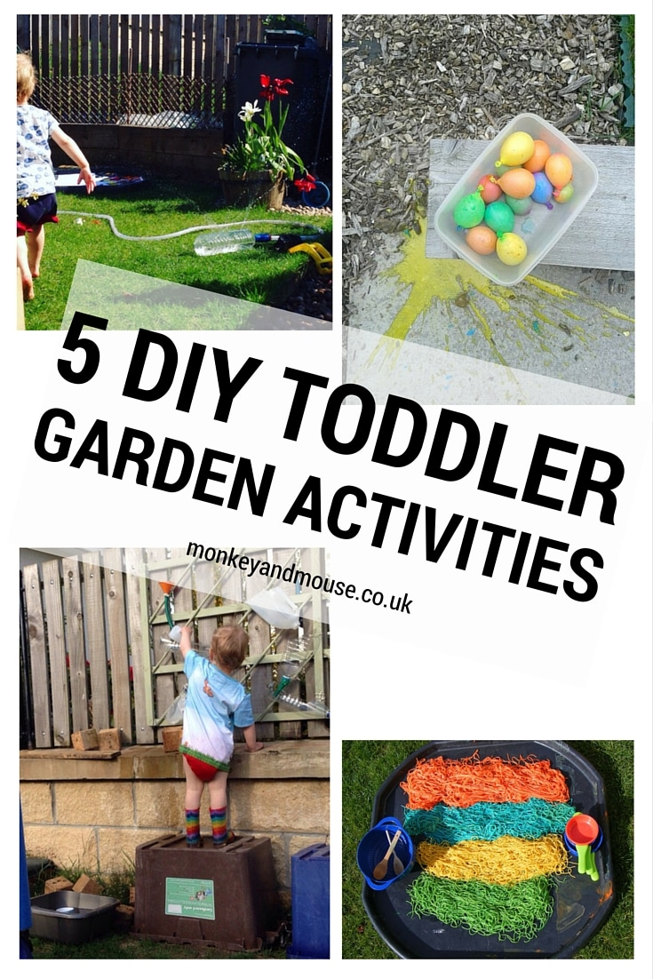 Our 10 Favourite Garden Activities For Kids - Monkey and Mouse