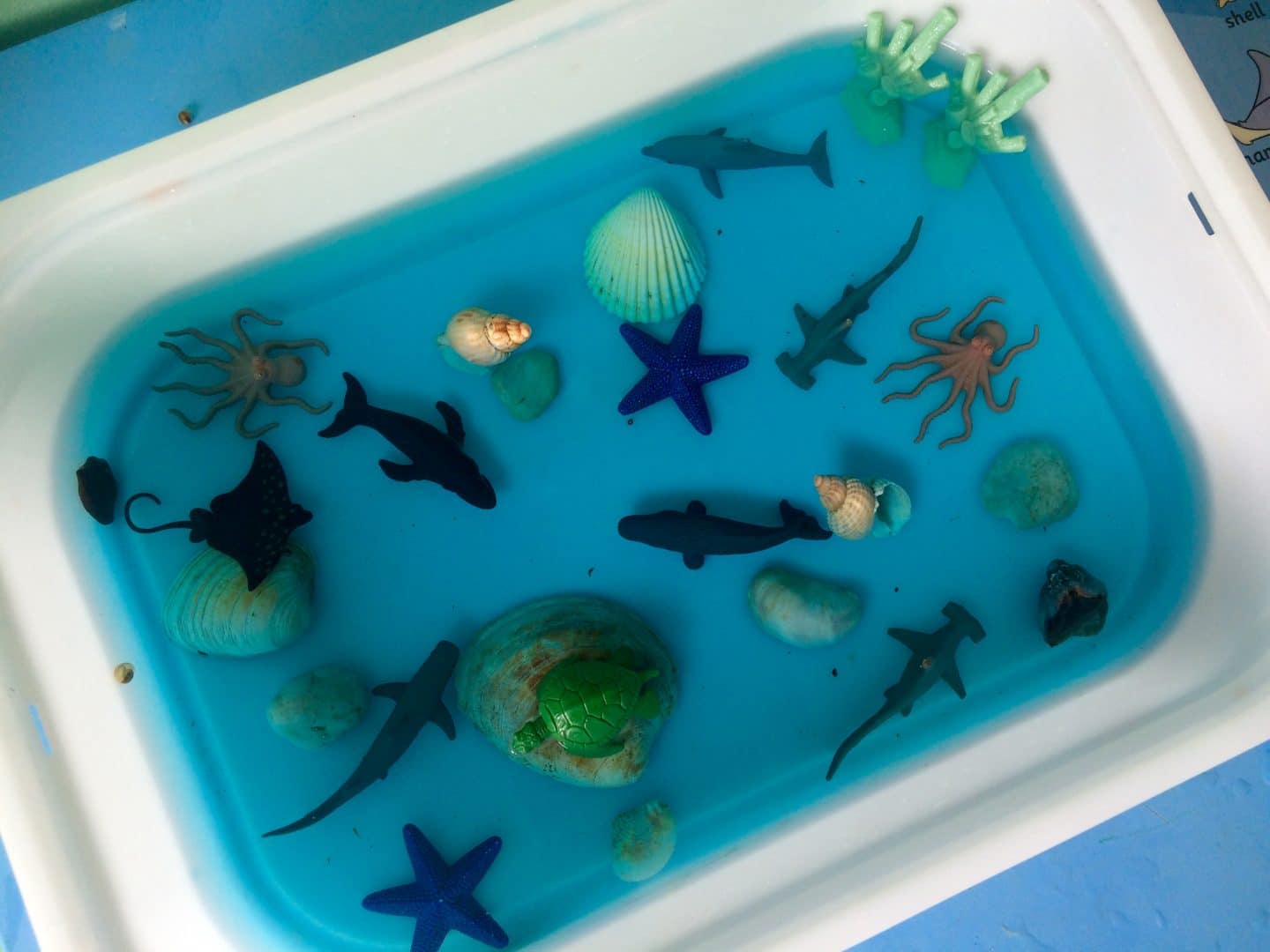 Under The Sea Sensory Bin Monkey And Mouse