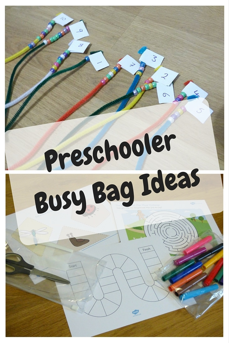 preschool busy bag