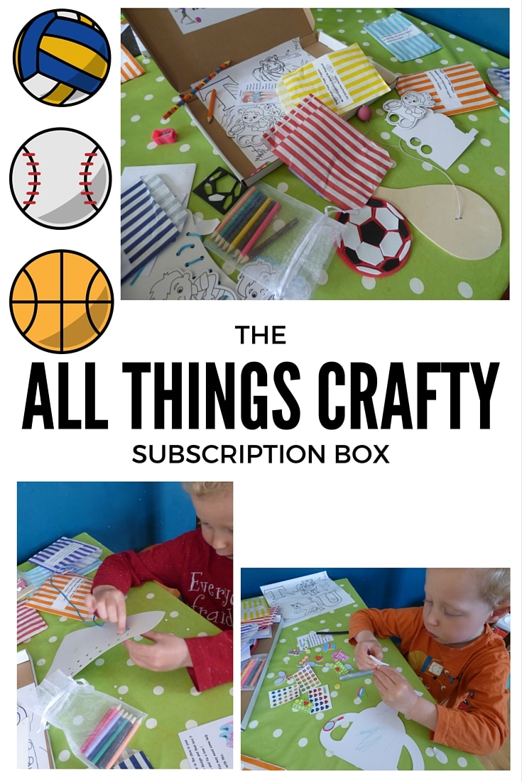 kids craft subscription
