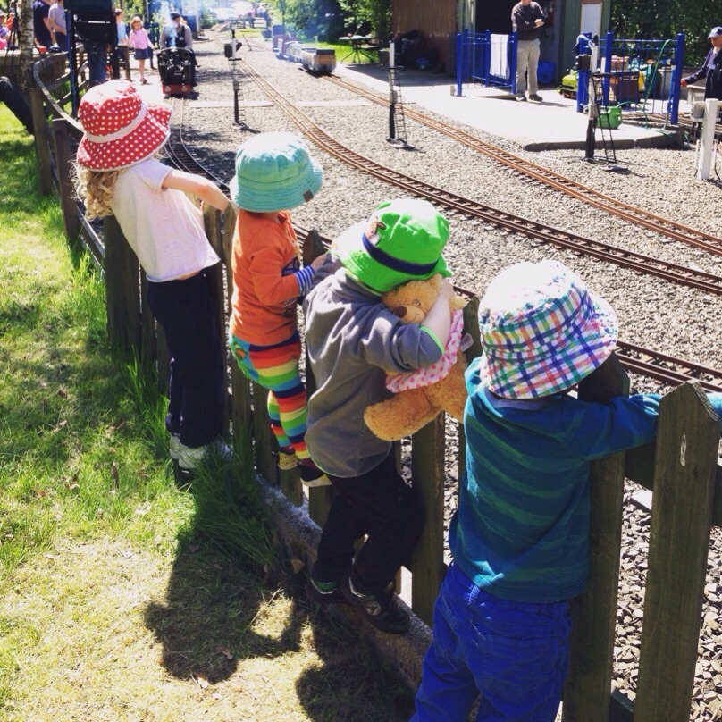 miniature railway Methven