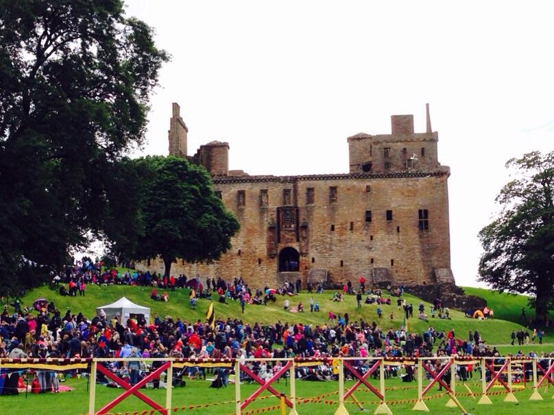 family days out in Scotland, Historic Scotland jousting