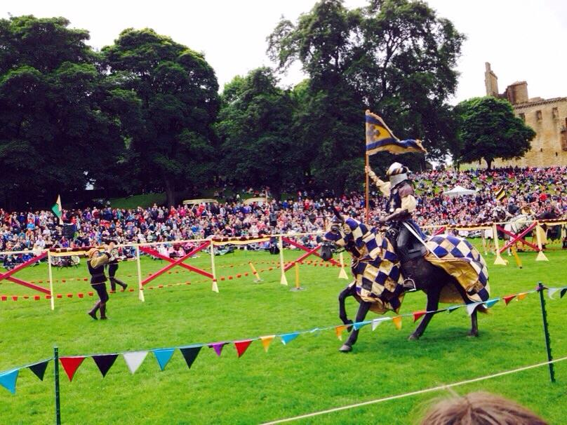 Historic Scotland jousting