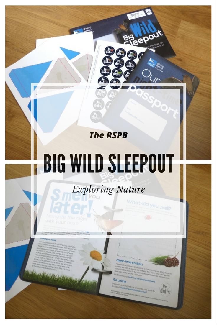 RSPB Big wild sleepout with Monkey and Mouse