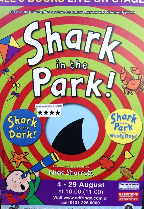 Shark in the Park at Edinburgh Festival Fringe
