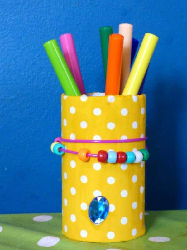 DIY pencil pot