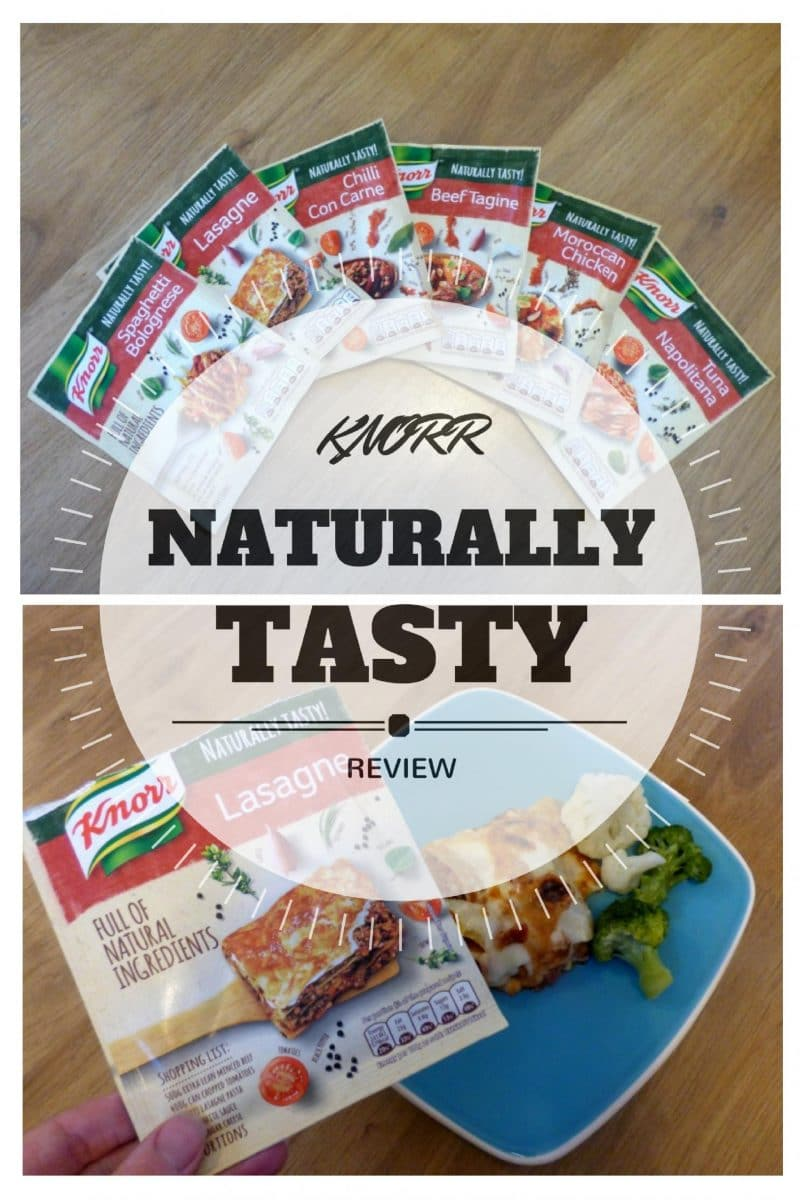 Knorr naturally tasty