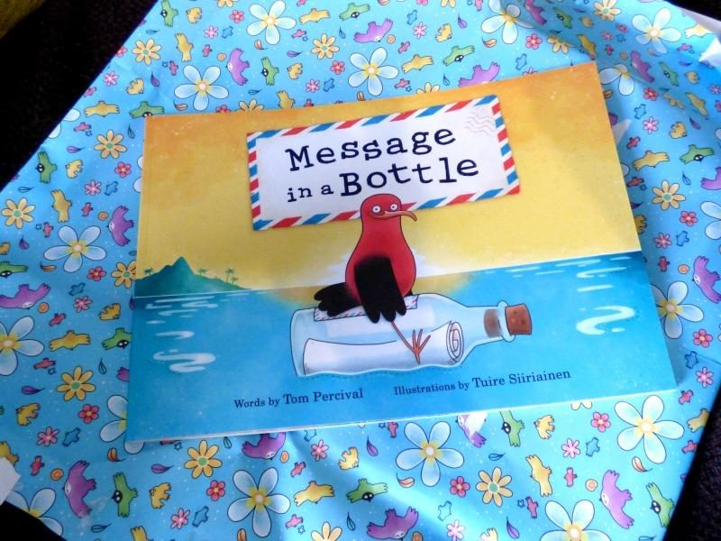 message in a bottle kids book review