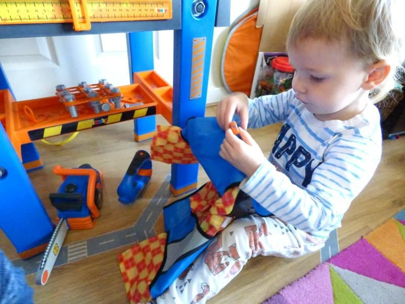 Bob the builder workbench review competition