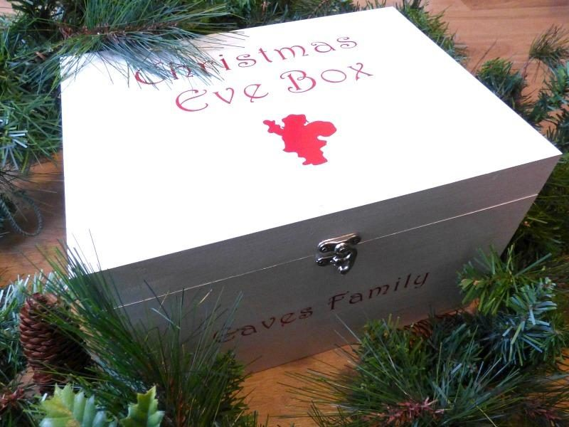 Wooden Christmas box