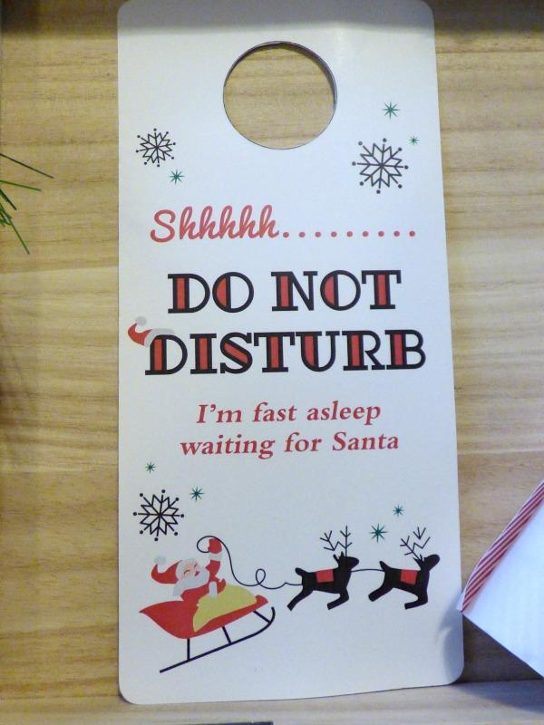 Christmas door hanger