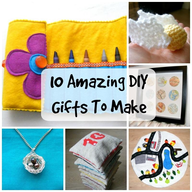 10 DIY gift to make