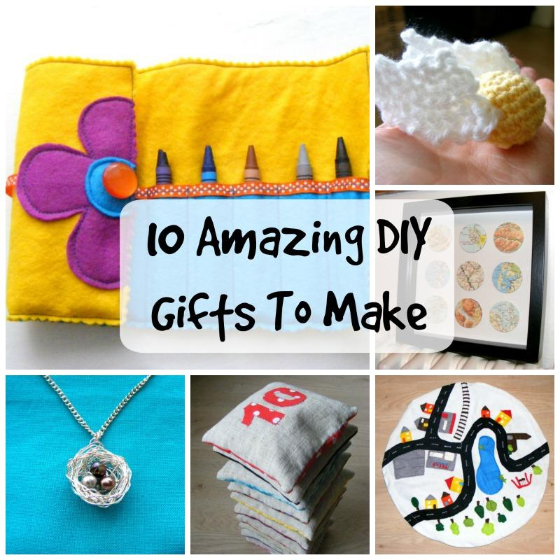 10 DIY Christmas Gifts For All The Family