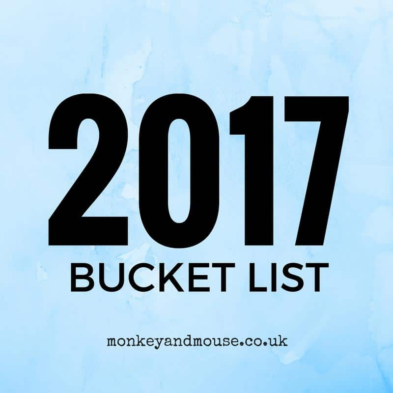 Yearly Bucket List 2017 – January