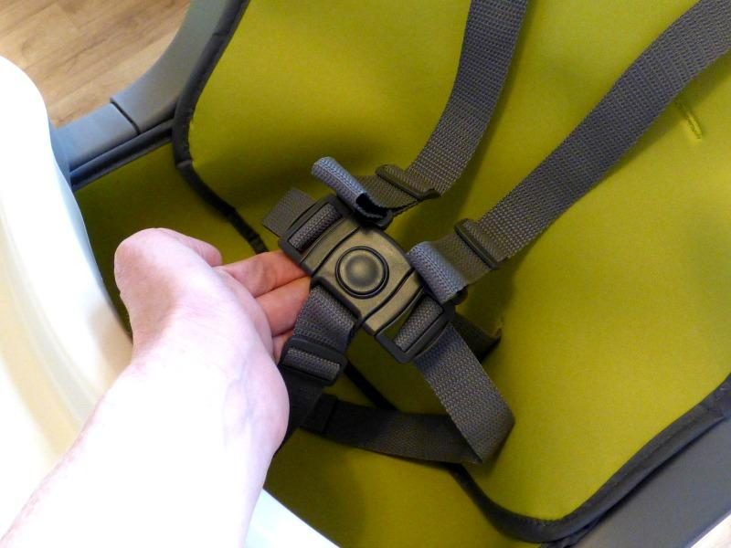 5 point booster seat harness