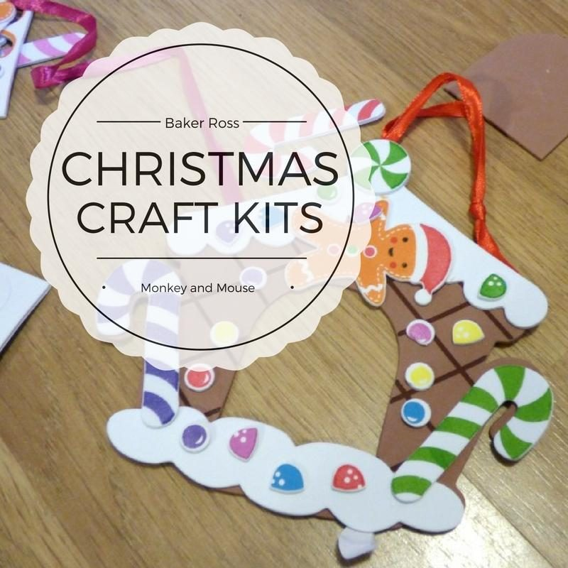christmas craft kits with baker ross