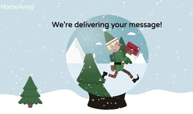 deliver santa message