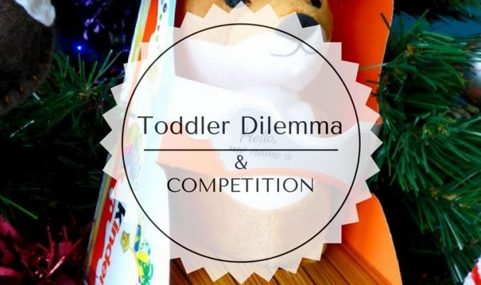 Christmas toddler destruction and a competition