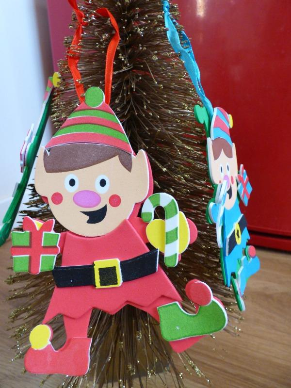 elf christmas craft