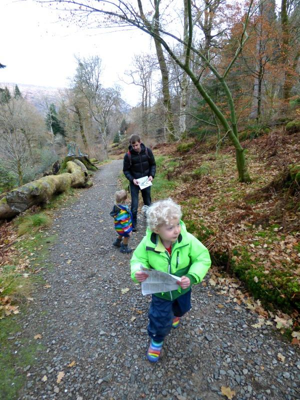 On the trail of the gruffalo