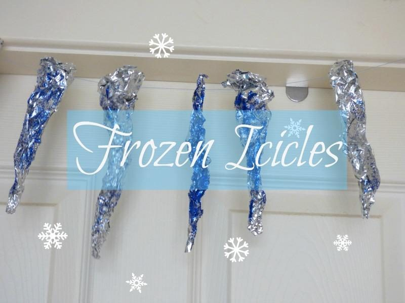 Icicle craft winter