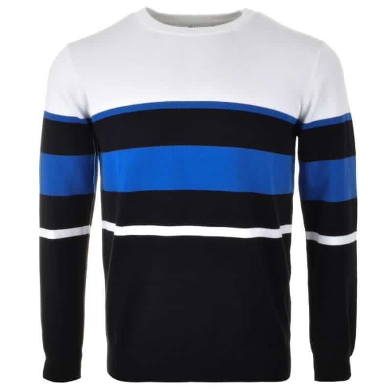 stripe mens jumper