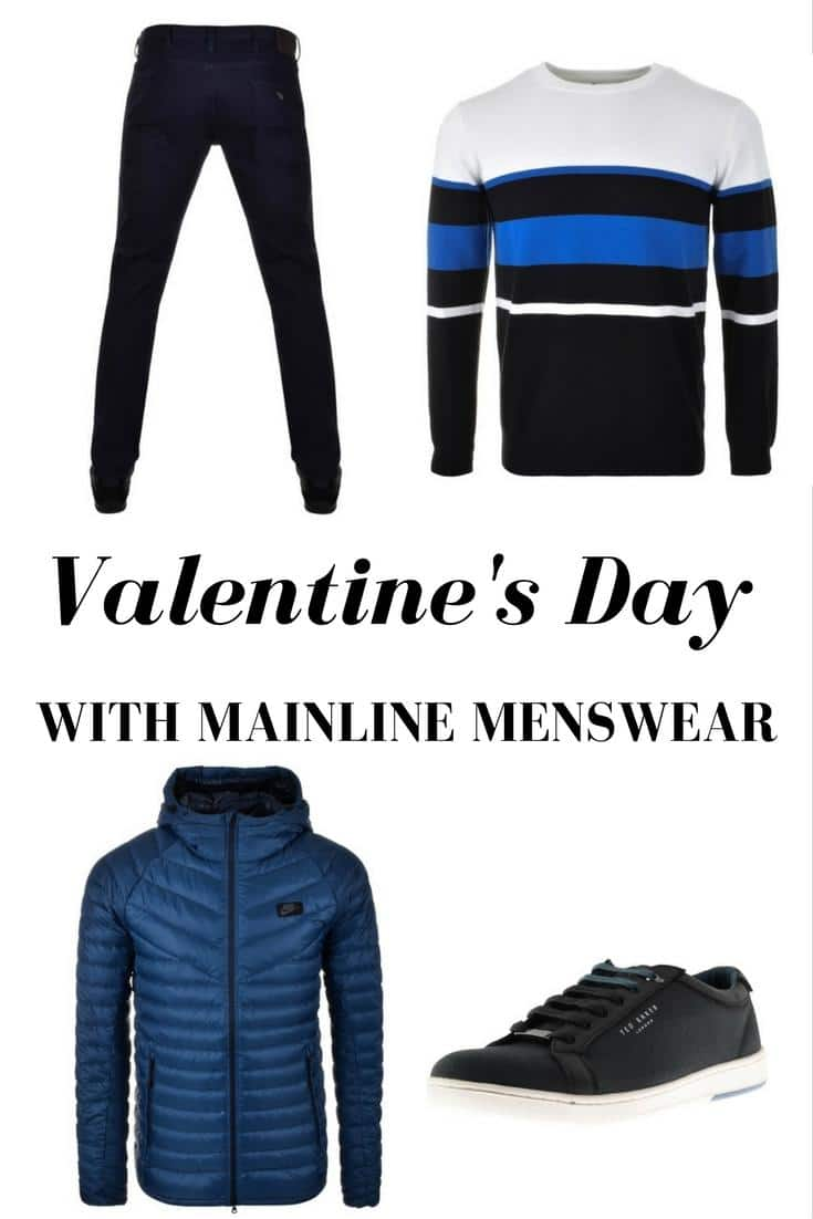 Valentine's day menswear