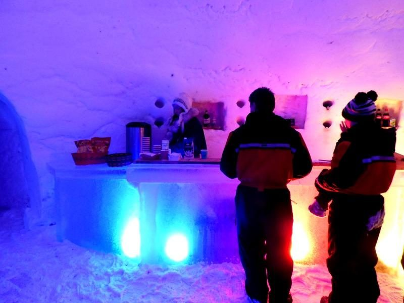 Santas lapland ice bar