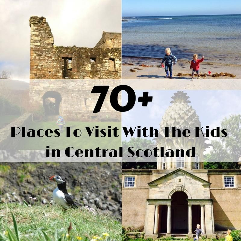 family days out in scotland