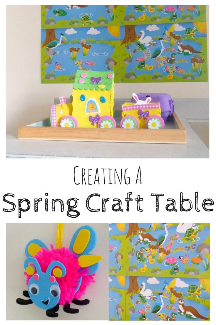 spring nature table