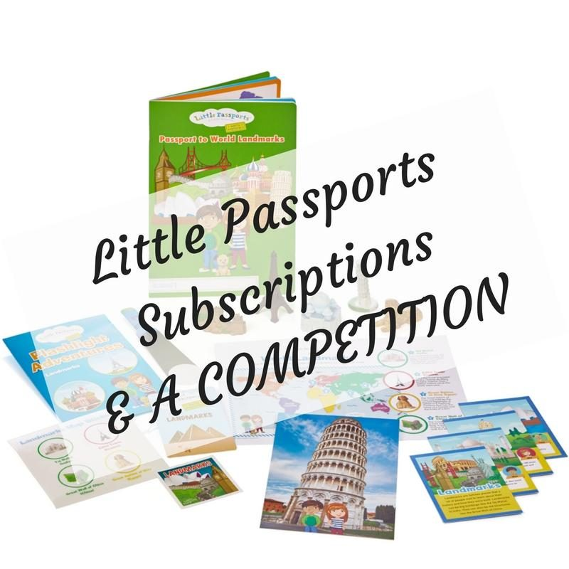 Little Passports Subscriptions& COMPETITION