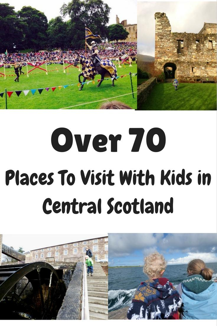 Scotland visitor places