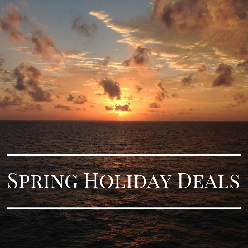 Spring Holiday Deals