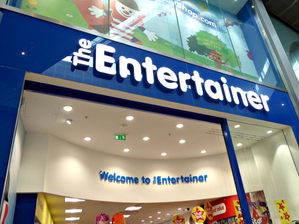 The  Entertainer Toy Shop  -Silverburn Shopping Centre